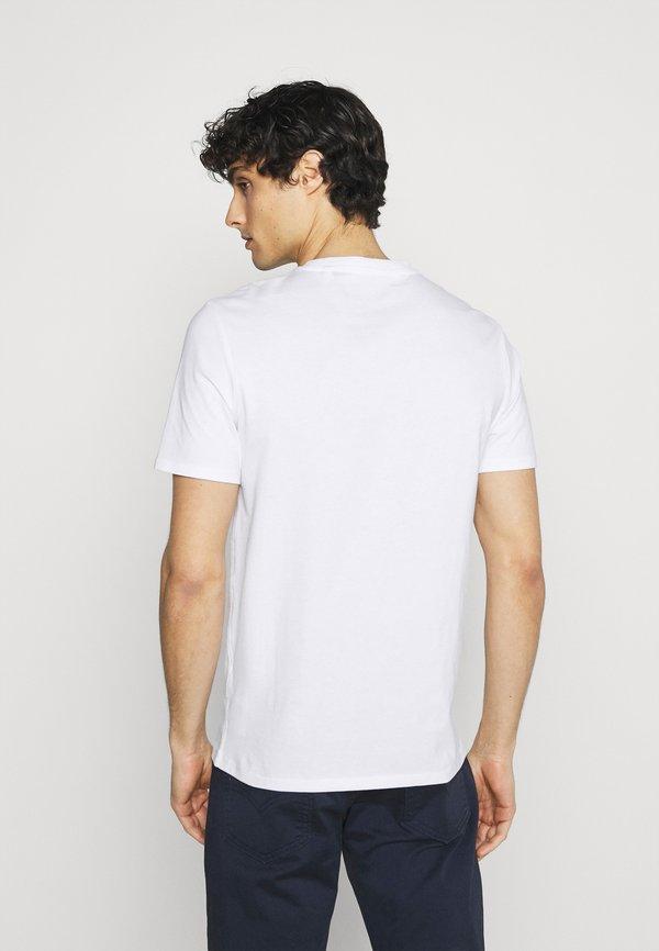 Guess TEE - T-shirt basic - true white/biały Odzież Męska CVAM