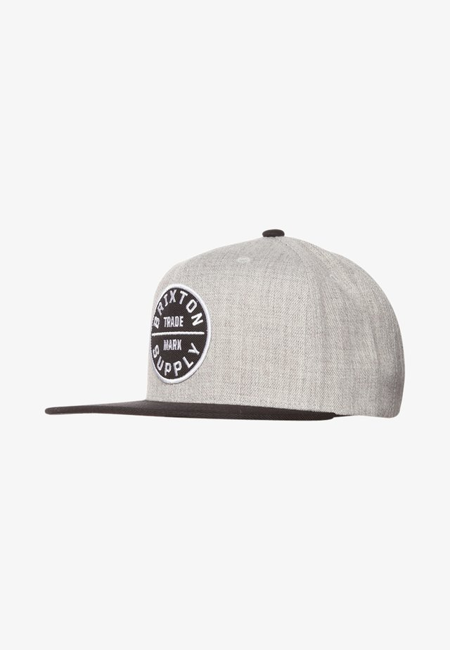 OATH SNAPBACK - Kšiltovka - heather grey