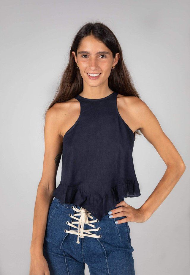 BAHIA TOP - Top - dark blue