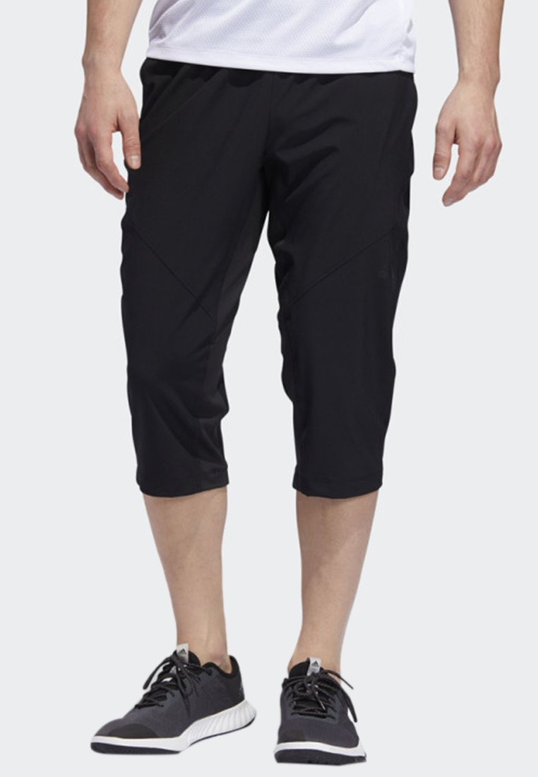 adidas Performance - CLIMACOOL 3/4 TRAINING TRACKSUIT BOTTOMS - 3/4 sports trousers - black