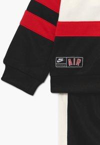 Nike Sportswear - AIR SET - Tracksuit - black/university red - 4