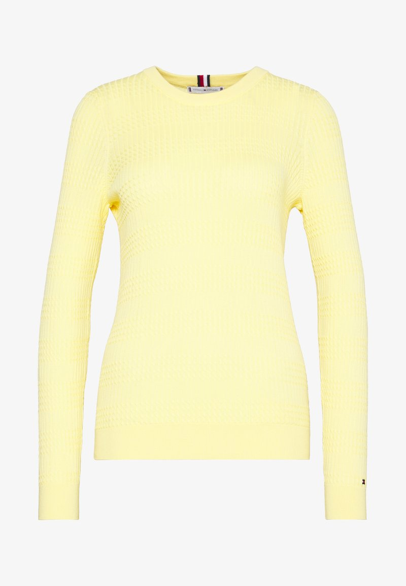 Tommy Hilfiger - ESSENTIAL CABLE - Sweter - sunray