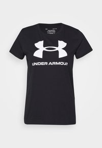 Under Armour - LIVE SPORTSTYLE GRAPHIC - T-shirt print - black - 4