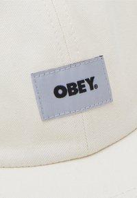 Obey Clothing - BOLD LABEL PANEL UNISEX - Lippalakki - sago - 3