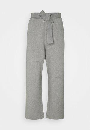 Tracksuit bottoms - melange grey
