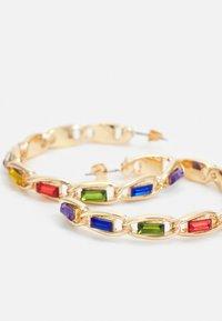 Pieces - PCPEPITA HOOP EARRINGS - Earrings - gold-coloured/multi - 2