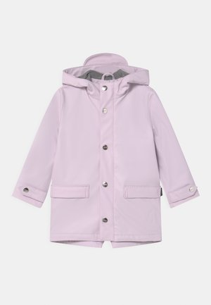 LAZY GEESE UNISEX - Waterproof jacket - lilac orchid