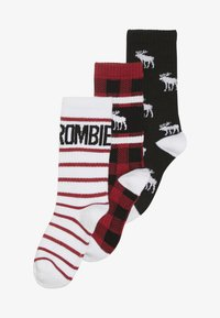 Abercrombie & Fitch - XMAS  3 PACK - Ponožky - multicoloured - 3