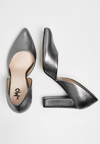 myMo at night - Tacones - grey metallic - 2