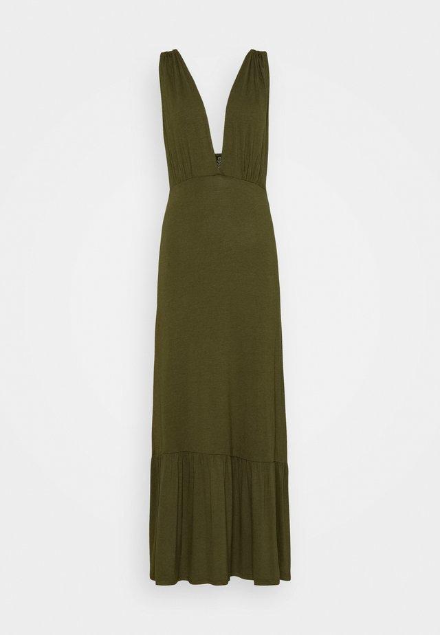 PCNEORA STRAP DRESS - Długa sukienka - sea turtle