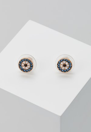 DUO EVIL EYE - Korvakorut - dark multicolor