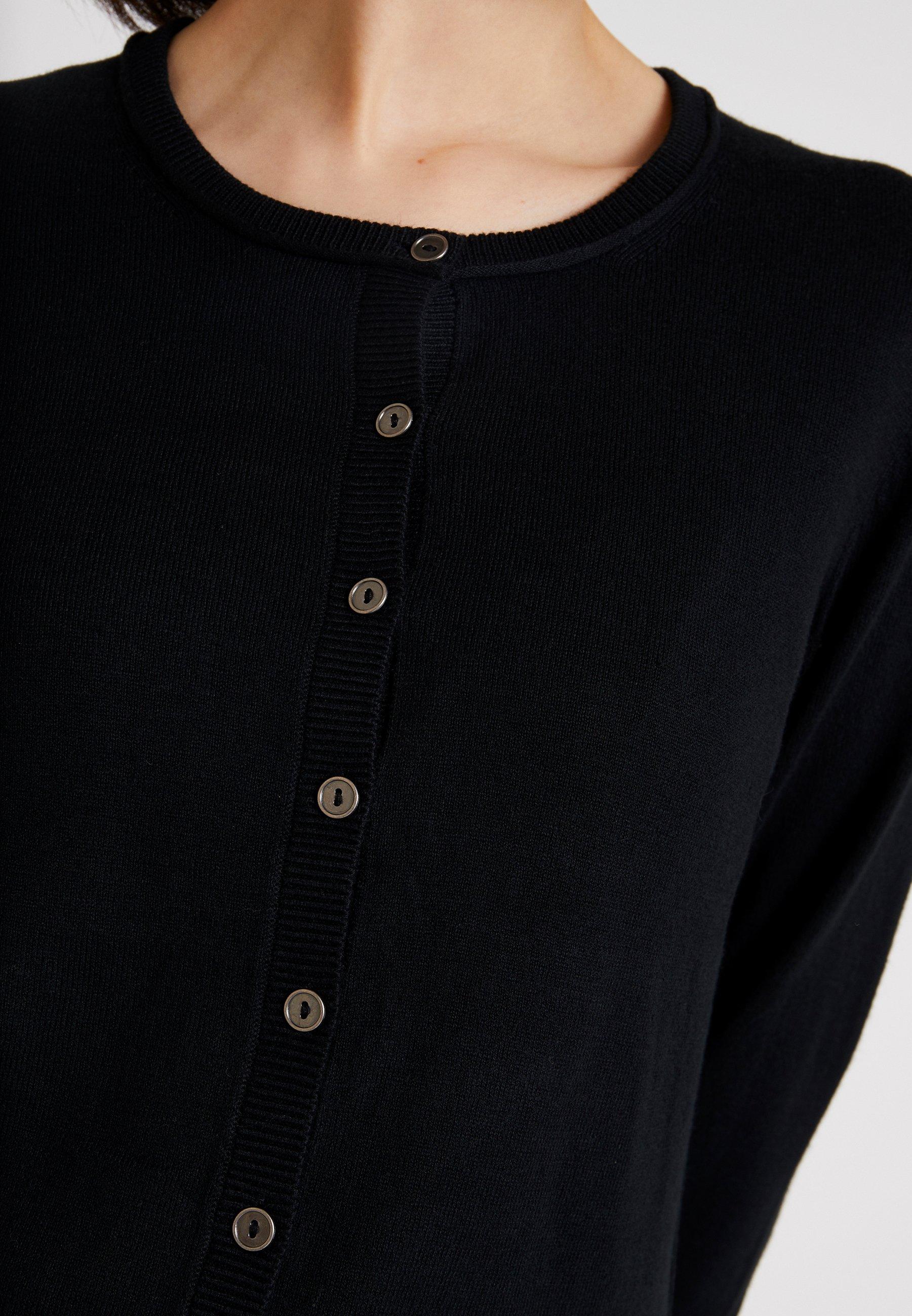 edc by Esprit BASIC - Strikjakke /Cardigans - black -  9I8NG