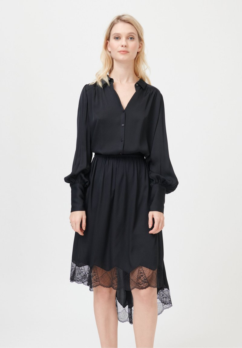 Dea Kudibal - CADENCE - Button-down blouse - black