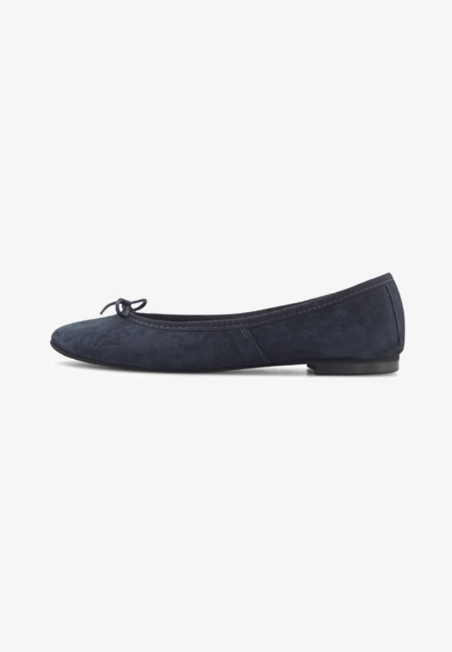 Ballet pumps - dunkelblau