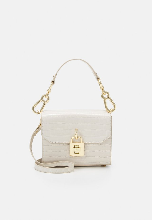 BPURE CROSSBODY BAG - Across body bag - bone