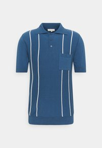 Far Afield - ALFARO - Polo shirt - ensign blue/white sand - 4