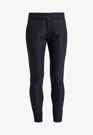 BLAKE NIGHT PANT SUSTAINABLE - Trousers - navy