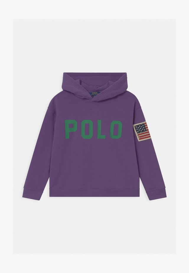 HOODED  - Felpa con cappuccio - rugby purple