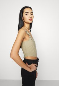 Missguided - RING SEAMED CORSET - Top - beige - 3