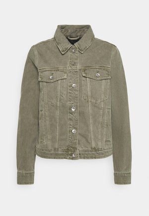Denim jacket - khaki