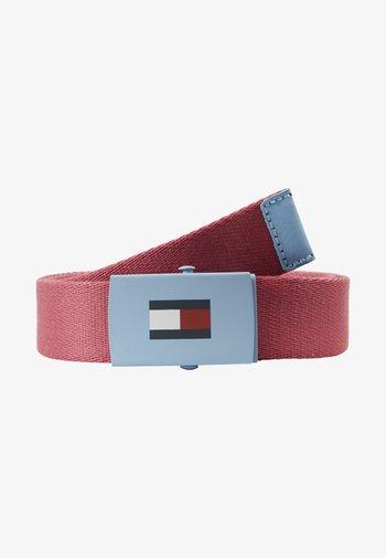 KIDS PLAQUE BELT - Belt - red