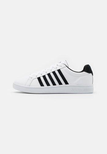 COURT TIEBREAK - Sneakers laag - white/black