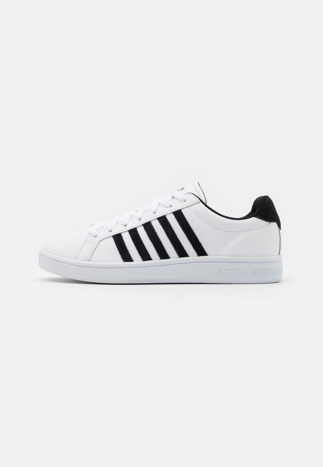 COURT TIEBREAK - Baskets basses - white/black