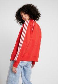 adidas Originals - SUPERSTAR ADICOLOR SPORT INSPIRED TRACK TOP - Giubbotto Bomber - lush red/white - 2