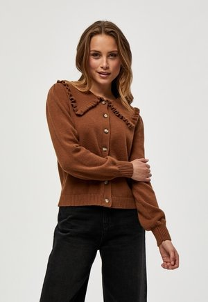 ELISA  - Kardigan - rustic brown melange