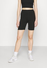 Missguided - CYCLING 2 PACK - Legginsy - black - 1