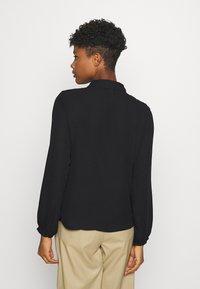 JDY - JDYMYNTHE - Button-down blouse - black - 2