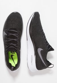 Nike Performance - ZOOM FLY FK - Zapatillas de running neutras - black/gunsmoke/white - 1