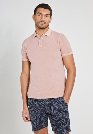 Polo shirt - old rose pink