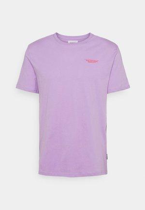 UNISEX - Triko spotiskem - lilac