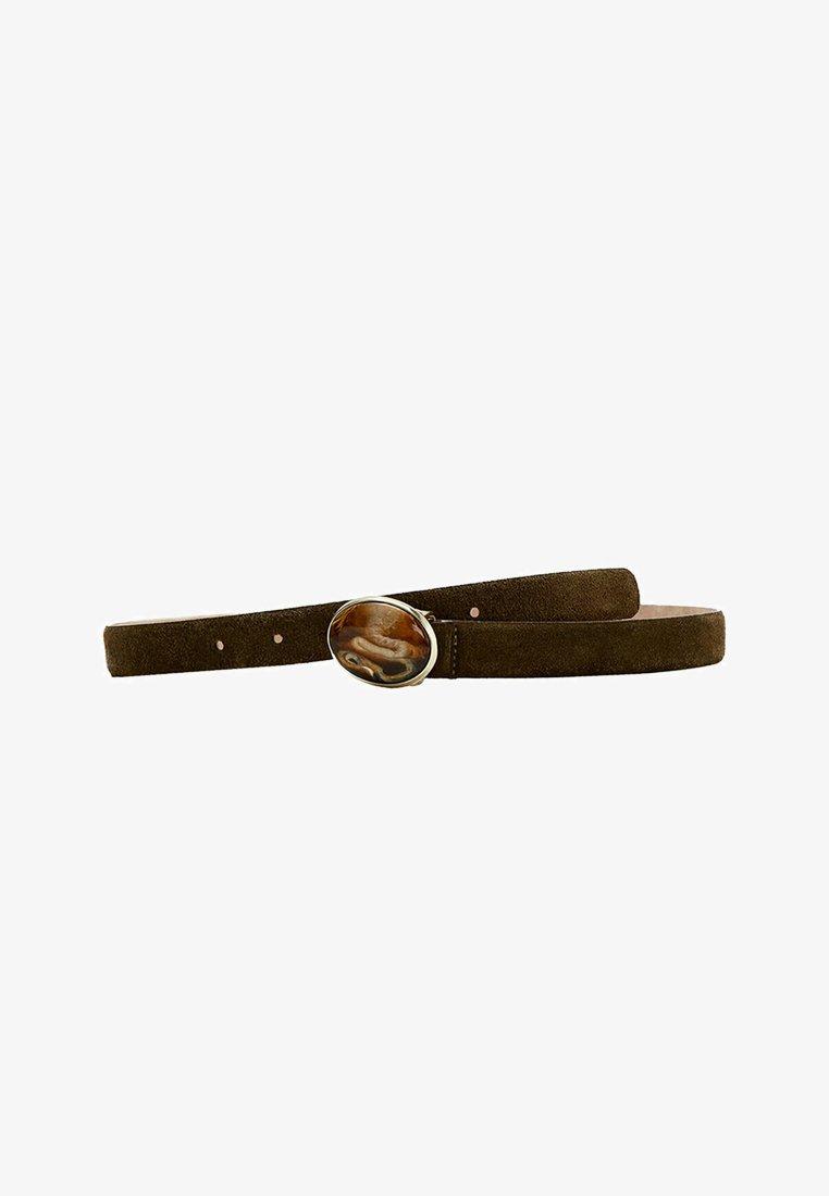 Uterqüe - IN STEINOPTIK  - Belt - brown