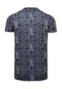 Ed Hardy - BAROQUE-TIGER T-SHIRT - Print T-shirt - black - 3