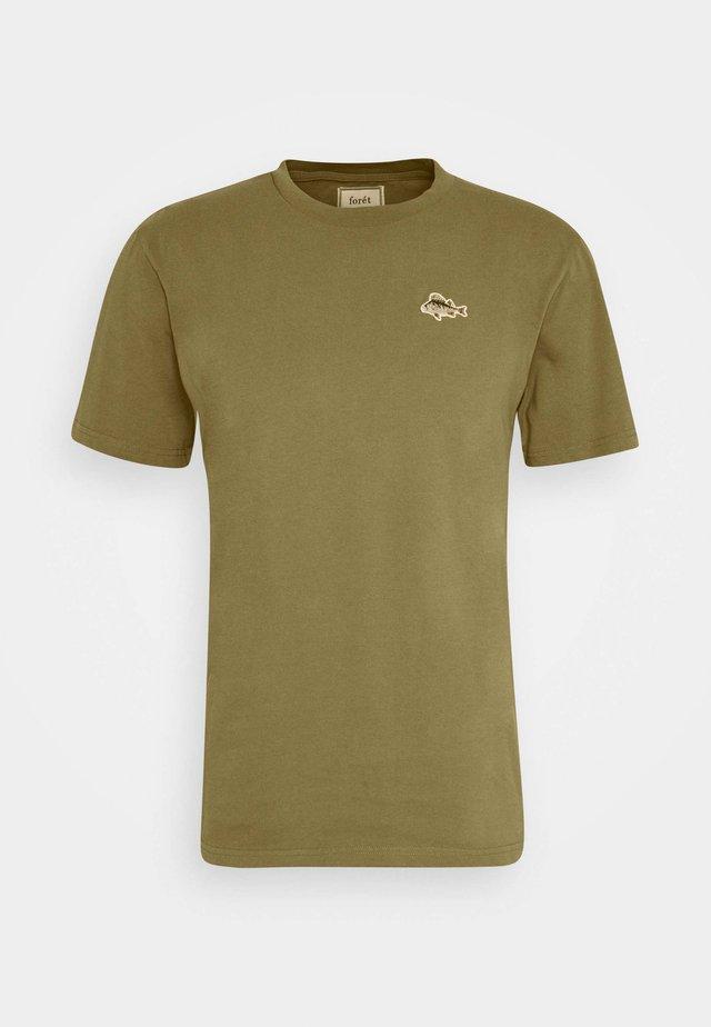 FISH - T-shirt basic - olive