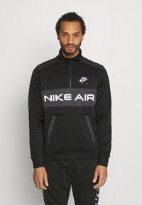 Nike Sportswear - Mikina - black/dark smoke grey/white - 0