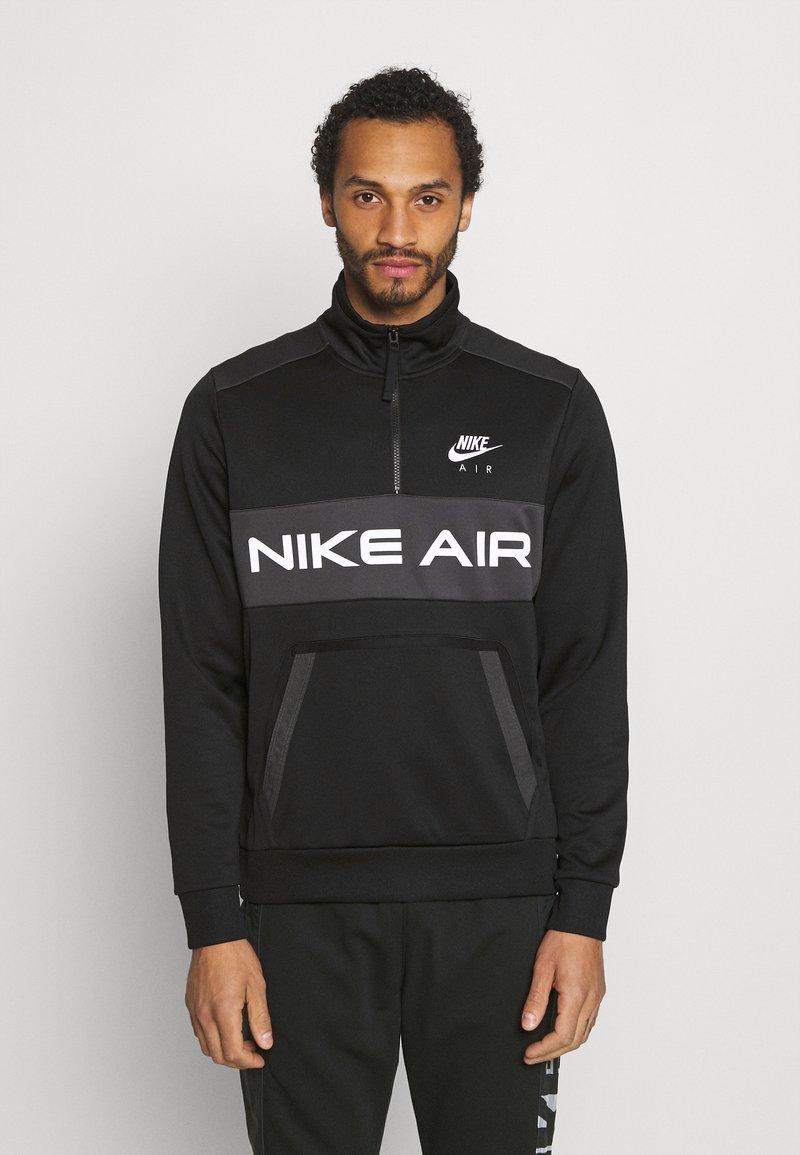 Nike Sportswear - Mikina - black/dark smoke grey/white
