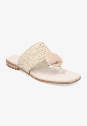 SUMATRA - Sandalias de dedo - beige