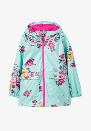 WASSERABWEISENDE RAINDANCE - Waterproof jacket - floral blau