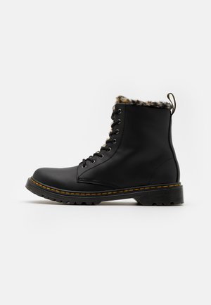 1460 SERENA ROMARIO - Lace-up ankle boots - black
