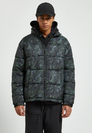 Winter jacket - dark green