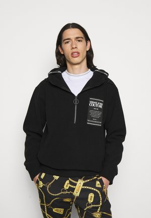 PILE SIDNEY - Fleece jumper - black