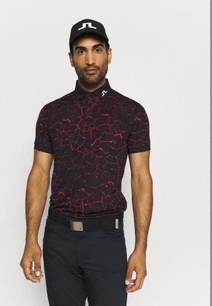 REGULAR FIT GOLF - Sports shirt - cobble camou navy