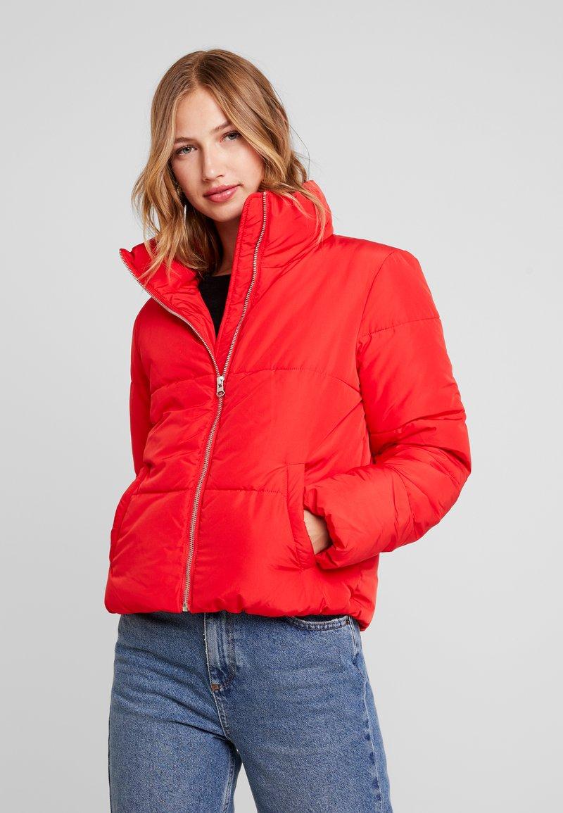 JDY - Winter jacket - goji berry
