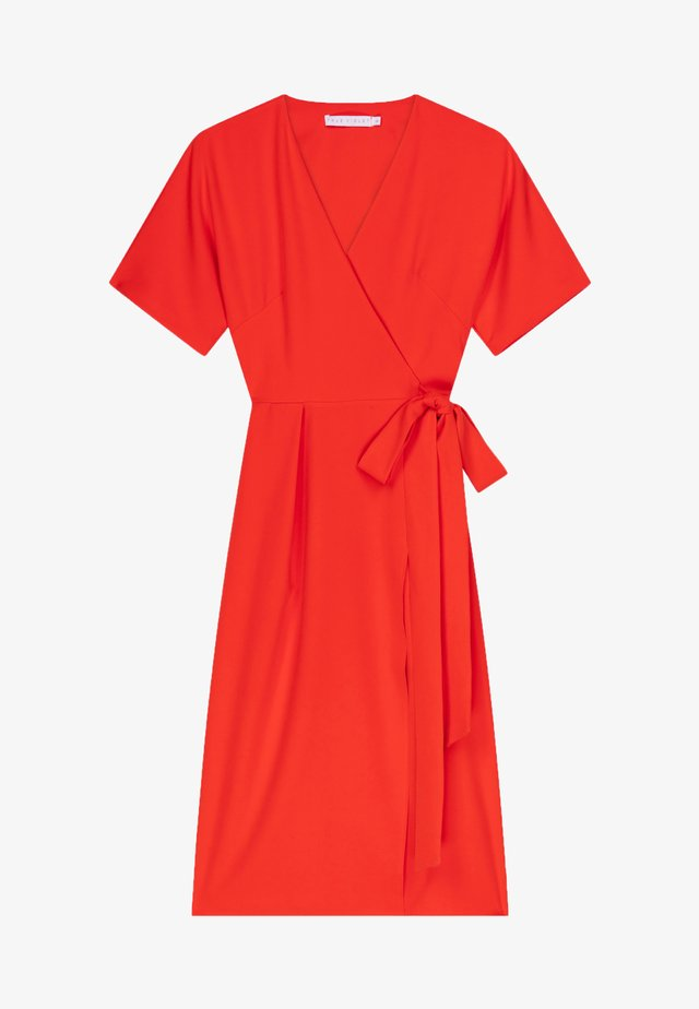 Korte jurk - orange