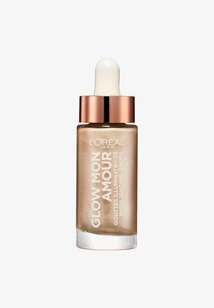 GLOW MON AMOUR HIGHLIGHTING DROPS - Rozświetlacz - 1 sparkling love