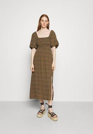 LONG DRESS - Day dress - brown