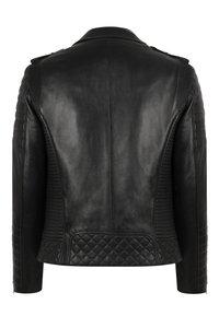 LEATHER HYPE - JORDAN PERFECTO - Leather jacket - black - 10